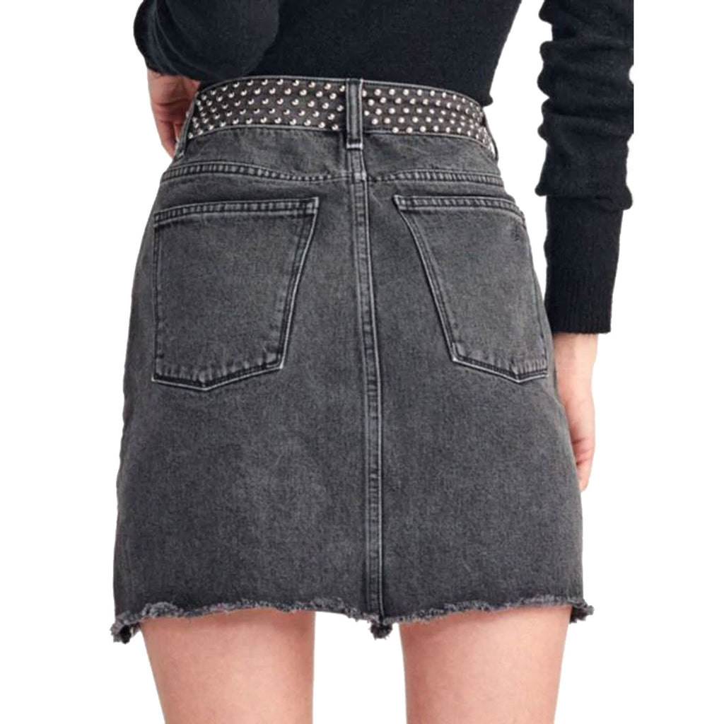 DL1961  Georgia Studded Denim Skirt Size  Muse Boutique Outlet | Shop Designer Skirts on Sale | Up to 90% Off Designer Fashion