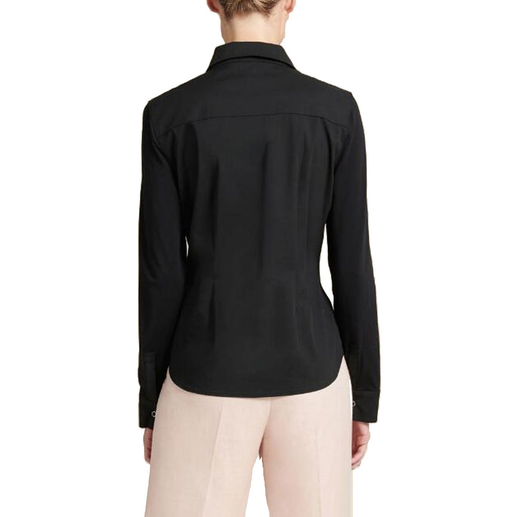 Donna Karan  Long Sleeve Popover Shirt Size  Muse Boutique Outlet | Shop Designer Clearance Tops on Sale | Up to 90% Off Designer Fashion