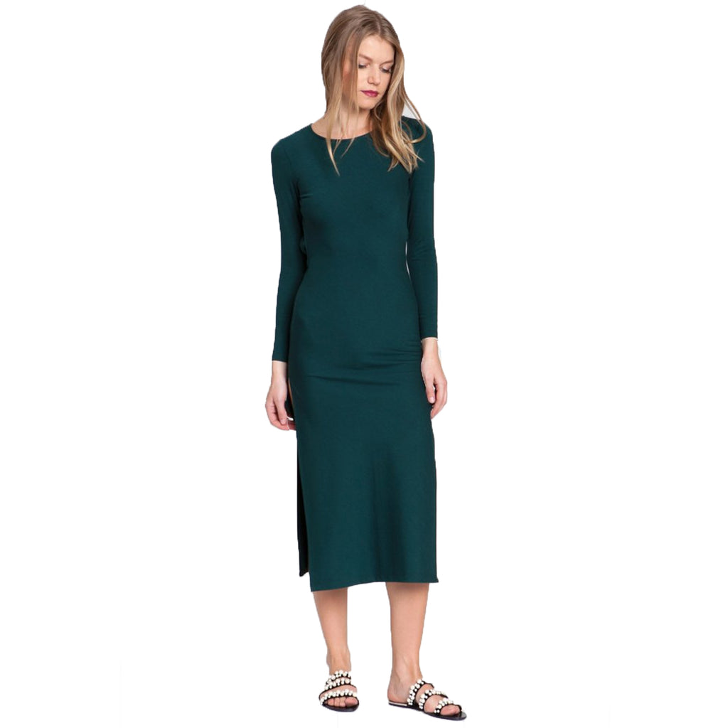 dRA Green Fitted Midi Dress Size Extra Small Muse Boutique Outlet | Shop Designer Dresses on Sale | Up to 90% Off Designer Fashion