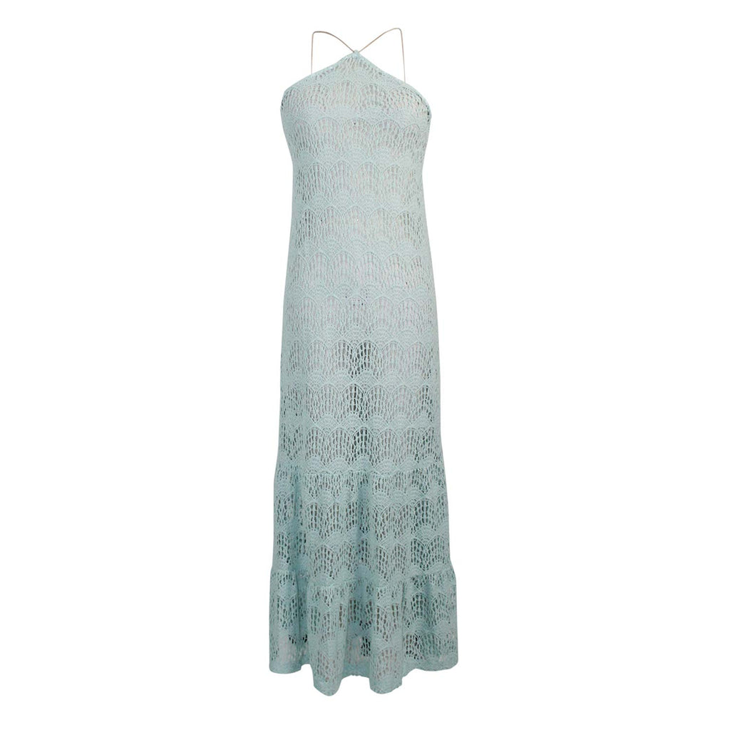 Eberjey Malena Free Spirit Crochet Maxi Dress Size Small/Medium Muse Boutique Outlet | Shop Designer Dresses on Sale | Up to 90% Off Designer Fashion