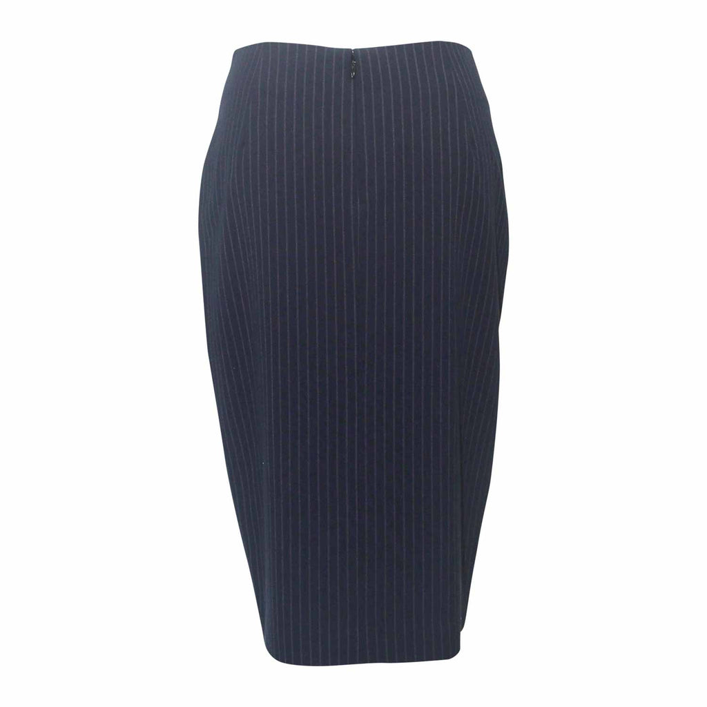 Ecru  Ruffle Pencil SKirt Size  Muse Boutique Outlet | Shop Designer Clearance Skirts on Sale | Up to 90% Off Designer Fashion