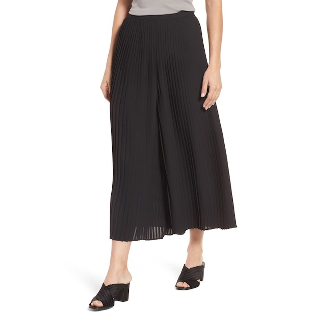 Eileen Fisher Black Wide Leg Ankle Pants Size Small Muse Boutique Outlet | Shop Designer Pant on Sale | Up to 90% Off Designer Fashion