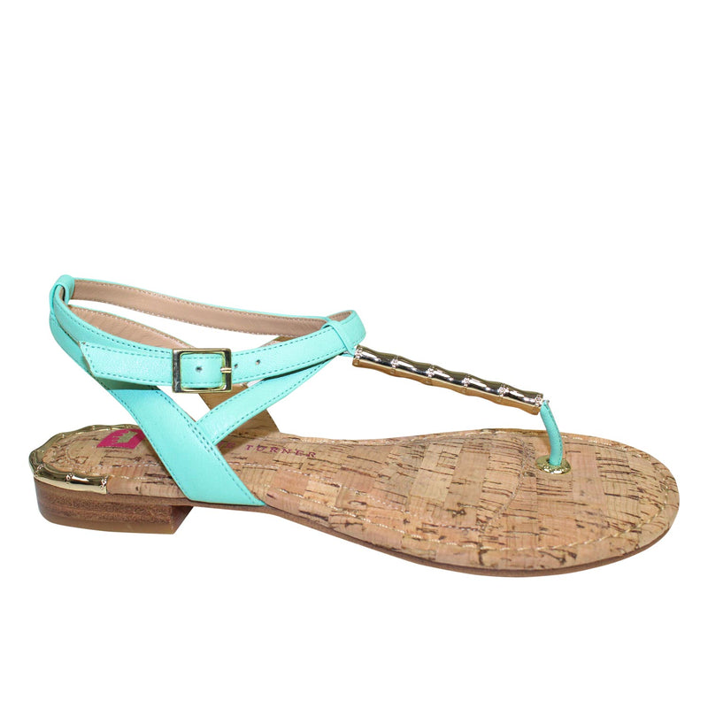 Elaine Turner Mint Lilly Thong Sandal Size 6.5 Muse Boutique Outlet | Shop Designer Sandals on Sale | Up to 90% Off Designer Fashion