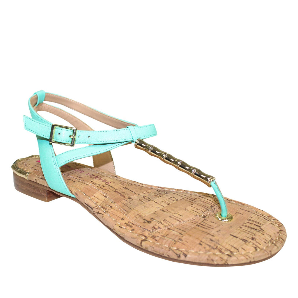 Elaine Turner Lilly Thong Sandal   Muse Boutique Outlet