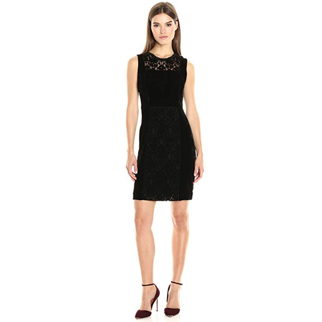 Elie Tahari Black Velvet Renita Dress Size 2 Muse Boutique Outlet | Shop Designer Evening/Cocktail on Sale | Up to 90% Off Designer Fashion