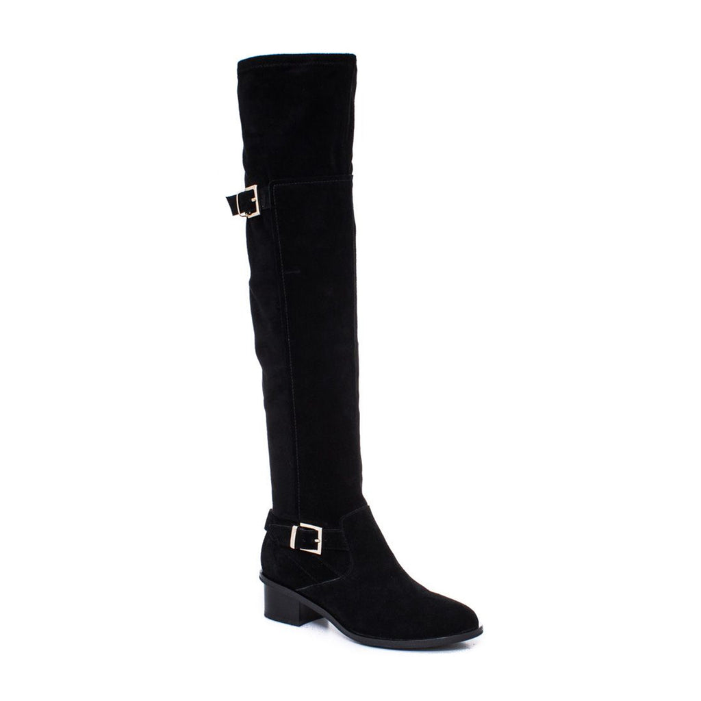 Elaine Turner Calley Suede Boot   Muse Boutique Outlet