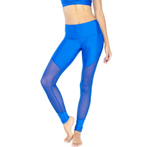 Electric Yoga Meshy Legging Small Royal Blue Muse Boutique Outlet