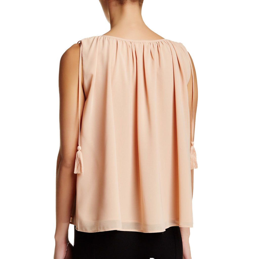 Endless Rose  Sleeveless Tassel Blouse Size  Muse Boutique Outlet | Shop Designer Sleeveless Tops on Sale | Up to 90% Off Designer Fashion