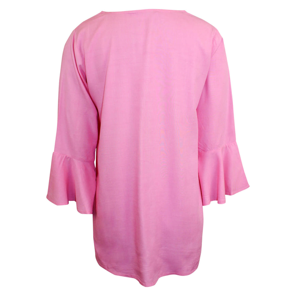 Escapada Living  3/4 Sleeve V Neck Top Size  Muse Boutique Outlet | Shop Designer Clearance Tops on Sale | Up to 90% Off Designer Fashion