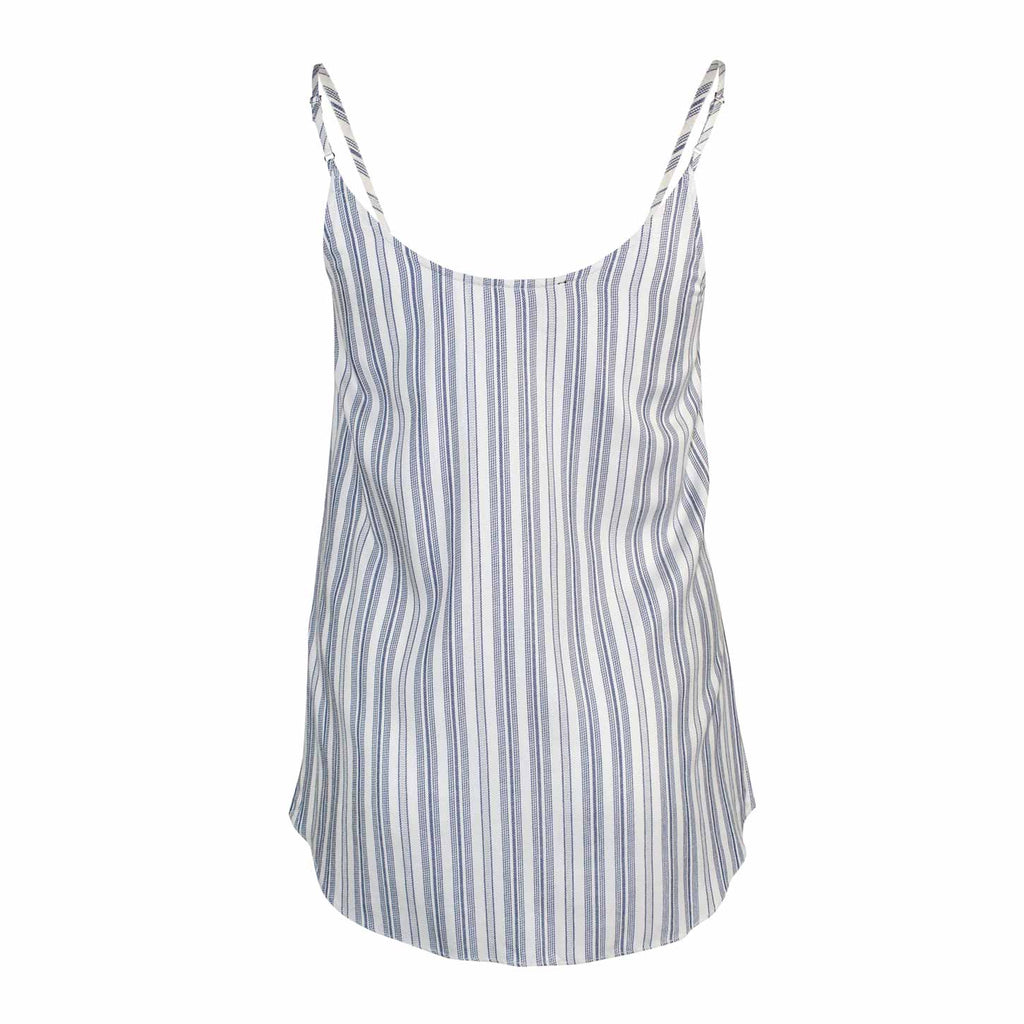 Fifteen Twenty  Striped Cross Front Tank Size  Muse Boutique Outlet | Shop Designer Sleeveless Tops on Sale | Up to 90% Off Designer Fashion