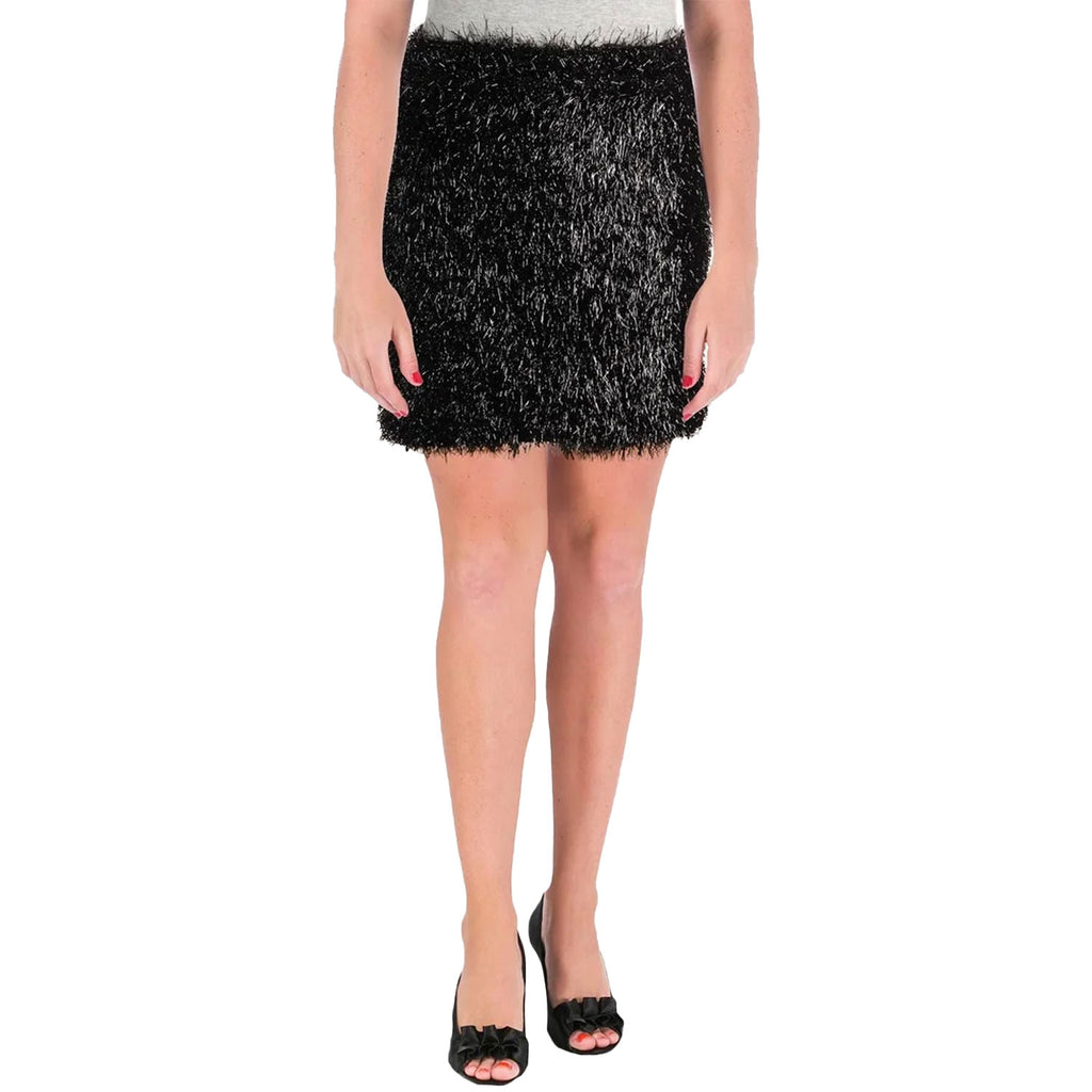 French Connection Black Simone Tassel Jersey Skirt Size Extra Small Muse Boutique Outlet | Shop Designer Skirts on Sale | Up to 90% Off Designer Fashion
