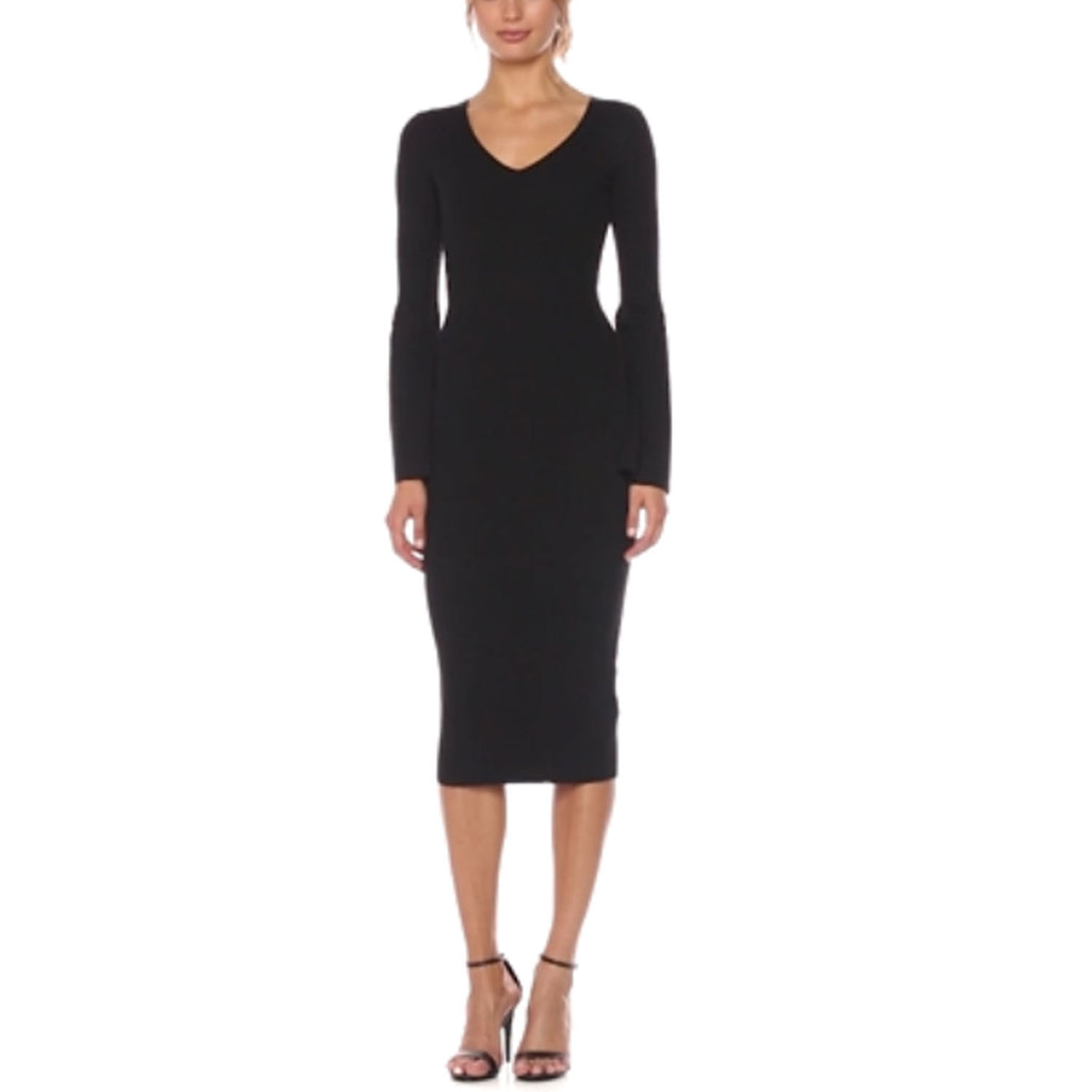 French Connection Black Virgies Knit Dress Size 0 Muse Boutique Outlet | Shop Designer Dresses on Sale | Up to 90% Off Designer Fashion