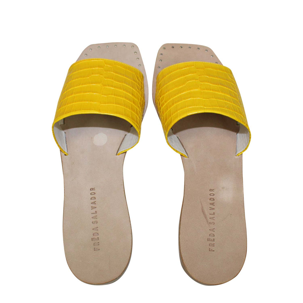 Freda Salvador  Jessa Slip On Sandal Size  Muse Boutique Outlet | Shop Designer Sandals on Sale | Up to 90% Off Designer Fashion