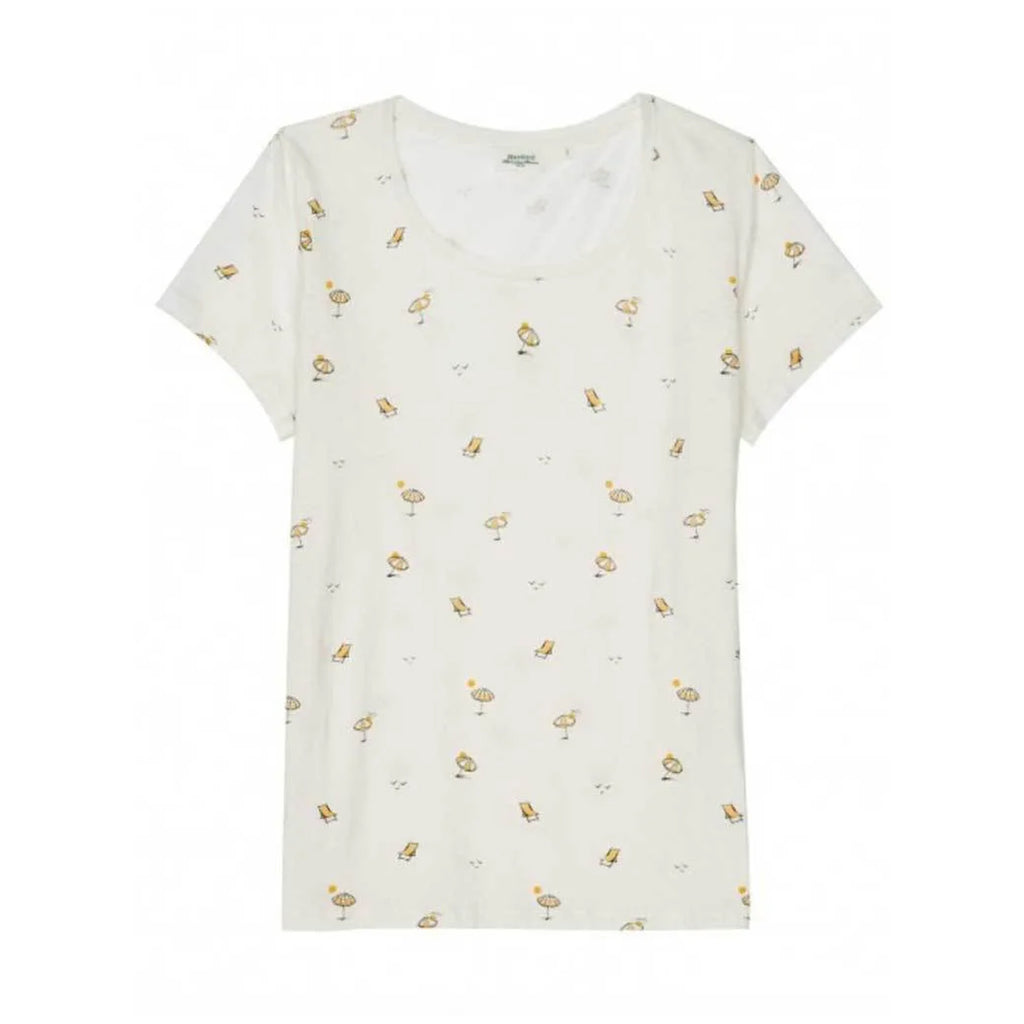 Hartford Ivory Summertime T-Shirt Size 3 Muse Boutique Outlet | Shop Designer Clearance Tops on Sale | Up to 90% Off Designer Fashion