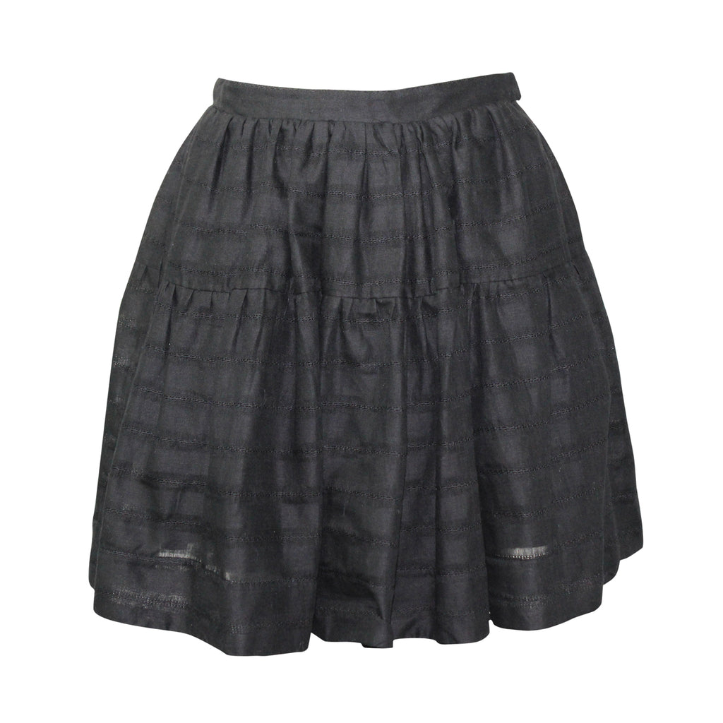 Heidi Merrick Black Crux Skirt Size 4 Muse Boutique Outlet | Shop Designer Skirts on Sale | Up to 90% Off Designer Fashion