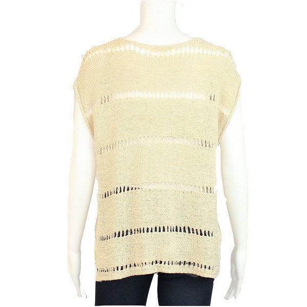Hem and Thread  Knit Crochet Top Size  Muse Boutique Outlet | Shop Designer Clearance Tops on Sale | Up to 90% Off Designer Fashion
