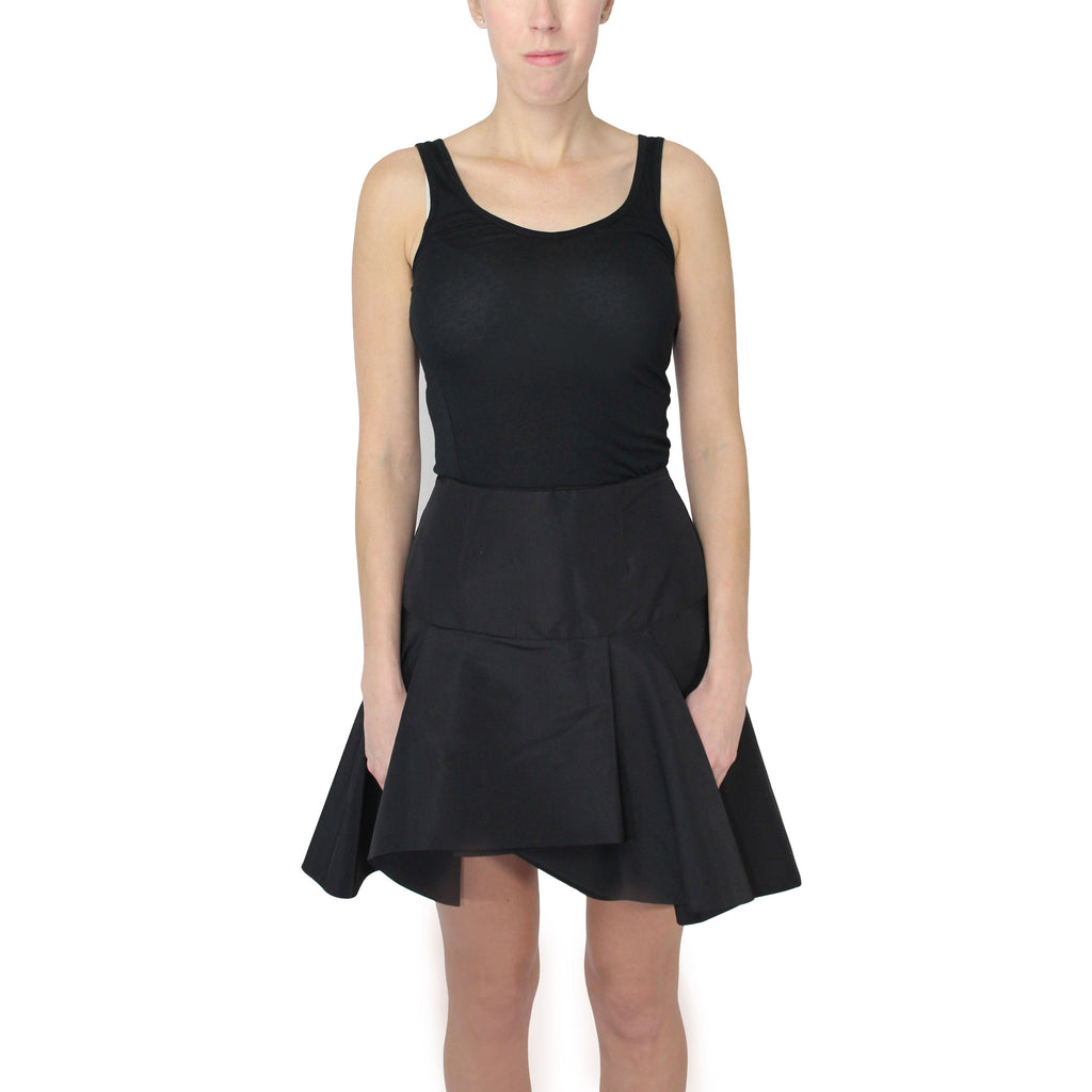 Hunter Bell Black High Waist Silk Faille Skirt Size 10 Muse Boutique Outlet | Shop Designer Clearance Skirts on Sale | Up to 90% Off Designer Fashion