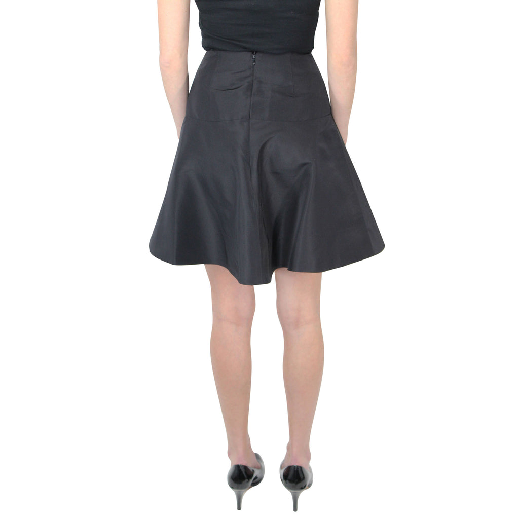 Hunter Bell  High Waist Silk Faille Skirt Size  Muse Boutique Outlet | Shop Designer Clearance Skirts on Sale | Up to 90% Off Designer Fashion