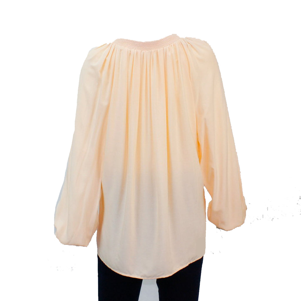 Hutch  Gathered Neck Blouse Size  Muse Boutique Outlet | Shop Designer Clearance Tops on Sale | Up to 90% Off Designer Fashion