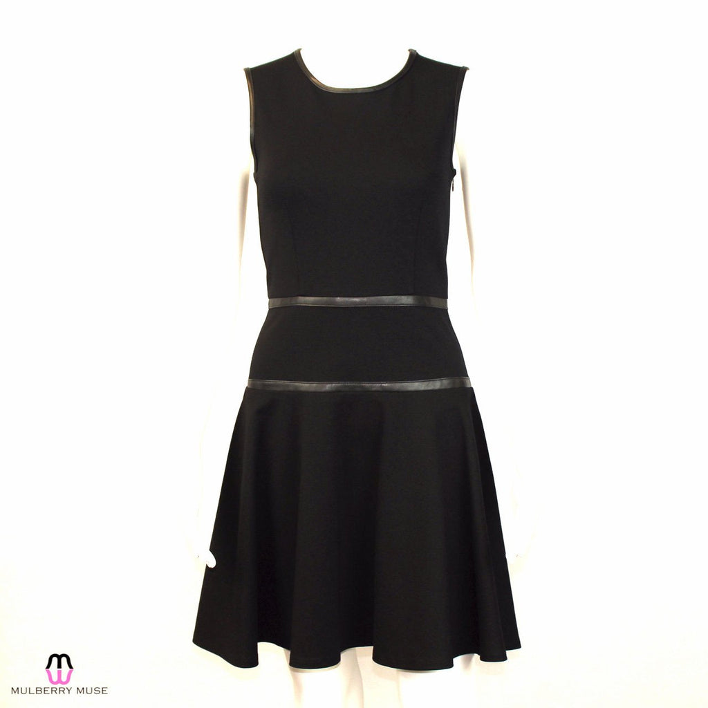 Hutch Black Ponte Knit and Leather Dress Size 0 Muse Boutique Outlet | Shop Designer Clearance Dresses on Sale | Up to 90% Off Designer Fashion