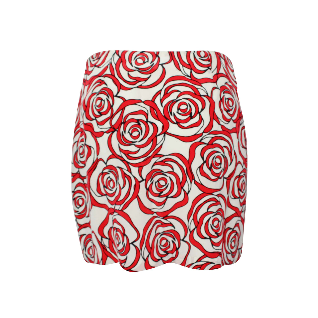 Hutch  Rose Print Mini Skirt Size  Muse Boutique Outlet | Shop Designer Clearance Skirts on Sale | Up to 90% Off Designer Fashion