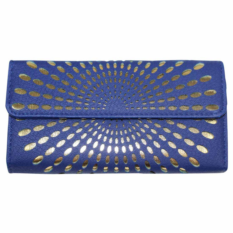 Avenue 9 Royal Blue Trifold Wallet Size One size Muse Boutique Outlet | Shop Designer Clearance Accessories on Sale | Up to 90% Off Designer Fashion