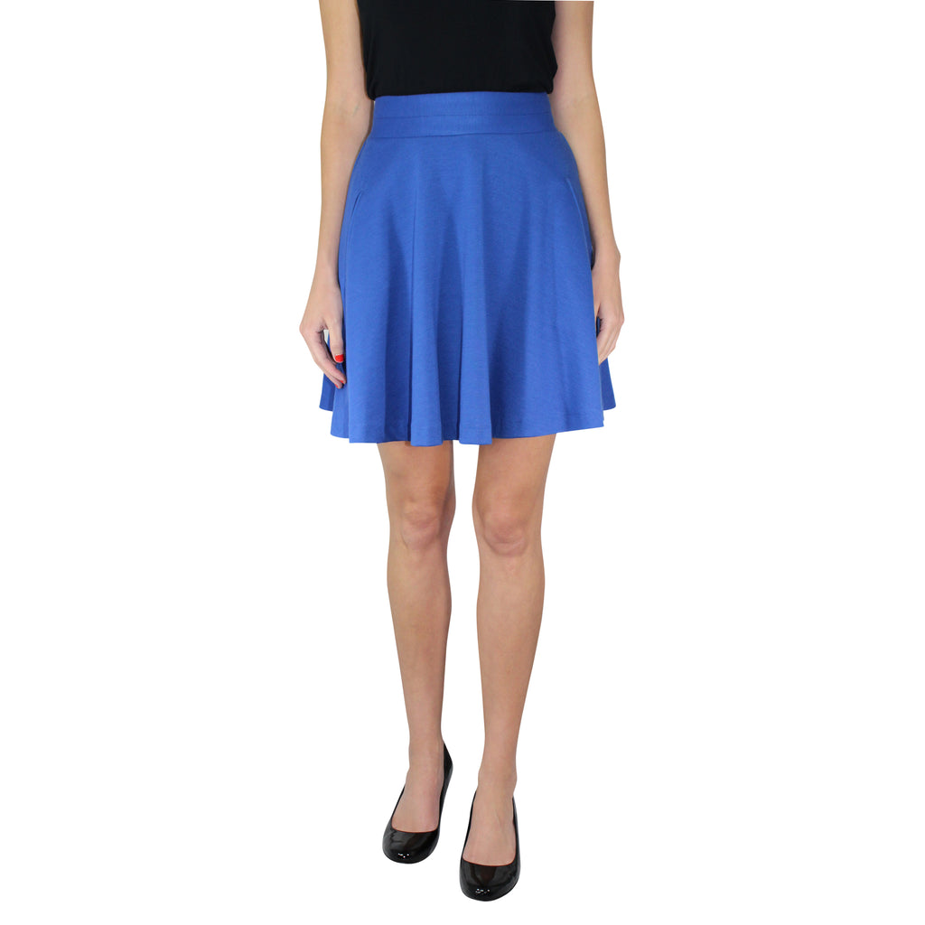 Leona by Lauren Leonard Electric Blue Royal Blue A-line Knit Skirt Size 0 Muse Boutique Outlet | Shop Designer Clearance Skirts on Sale | Up to 90% Off Designer Fashion