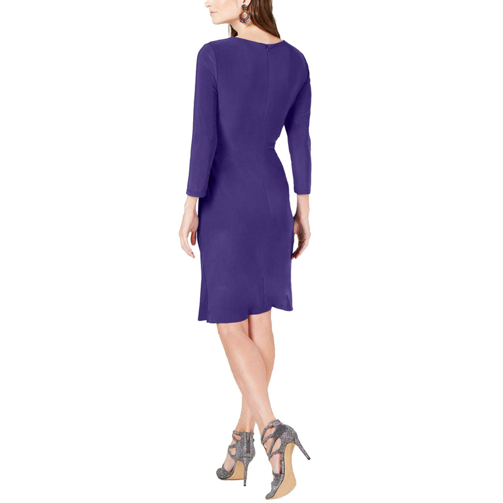 I.N.C  Ruched 3/4-Sleeve Dress Size  Muse Boutique Outlet | Shop Designer Dresses on Sale | Up to 90% Off Designer Fashion