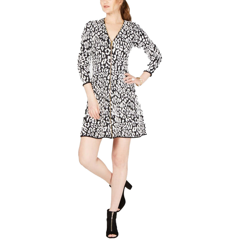 INC Animal Print Animal Print Sweater Dress Size Medium Muse Boutique Outlet | Shop Designer Clearance Dresses on Sale | Up to 90% Off Designer Fashion