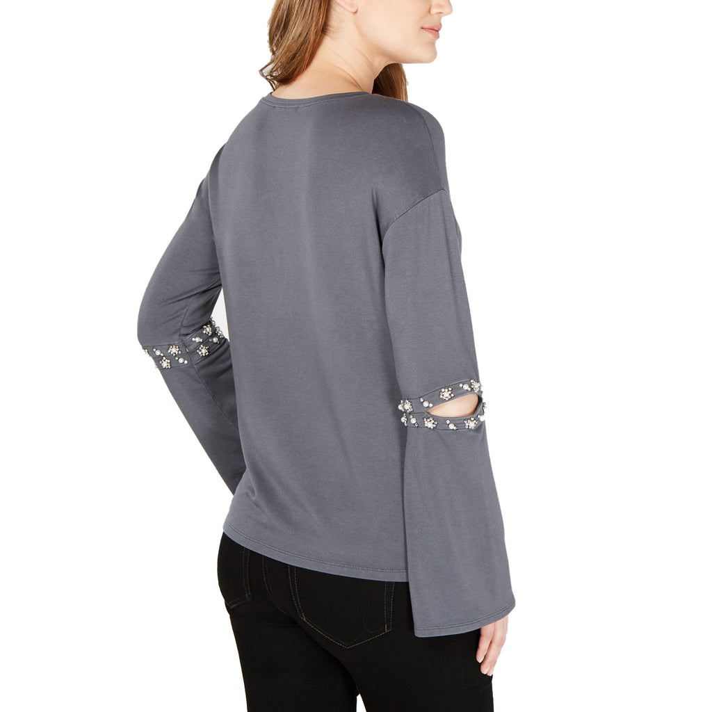 INC  Embellished Cutout Elbow Top Size  Muse Boutique Outlet | Shop Designer Clearance Tops on Sale | Up to 90% Off Designer Fashion