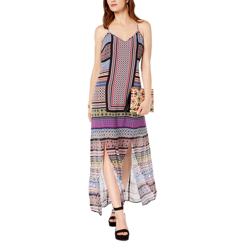 INC Multi Printed V Neck Maxi Dress Size 6 Muse Boutique Outlet | Shop Designer Clearance Dresses on Sale | Up to 90% Off Designer Fashion
