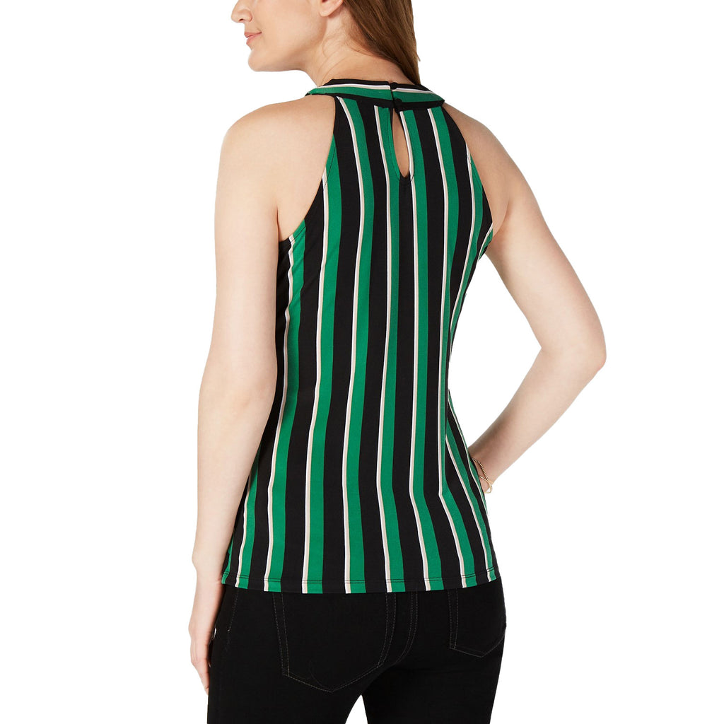 INC  Twist Neck Striped Halter Top Size  Muse Boutique Outlet | Shop Designer Clearance Tops on Sale | Up to 90% Off Designer Fashion