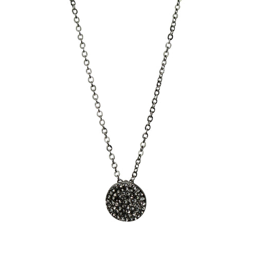Private Label Iridescent Circle Necklace OSFA Silver Muse Boutique Outlet