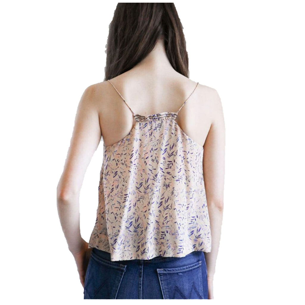 IRO  Jicey Printed Ruffle Tank Size  Muse Boutique Outlet | Shop Designer Sleeveless Tops on Sale | Up to 90% Off Designer Fashion