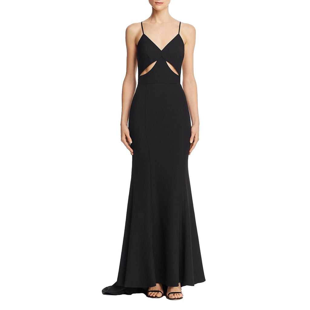 Jarlo Black Priscilla Cut Out Evening Gown Size 6 Muse Boutique Outlet | Shop Designer Dresses on Sale | Up to 90% Off Designer Fashion