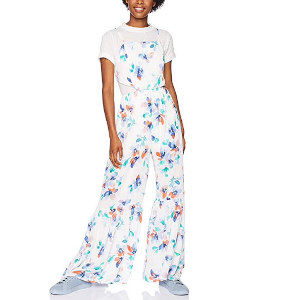 Jack by BB Dakota White Floral Print Jumpsuit Size Medium Muse Boutique Outlet | Shop Designer Rompers & Jumpsuits on Sale | Up to 90% Off Designer Fashion