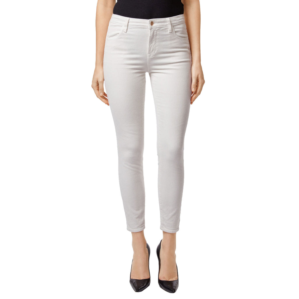 Alana High-Rise Corduroy Cropped Super Skinny Pants