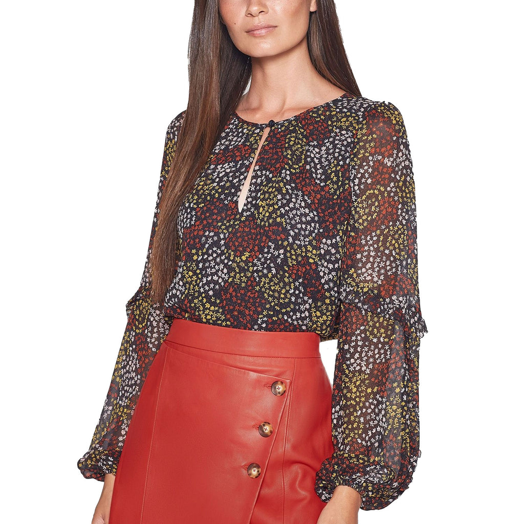 Joie Baltasar Baltasar Silk Printed Top Size Extra Extra Small Muse Boutique Outlet | Shop Designer Blouses on Sale | Up to 90% Off Designer Fashion