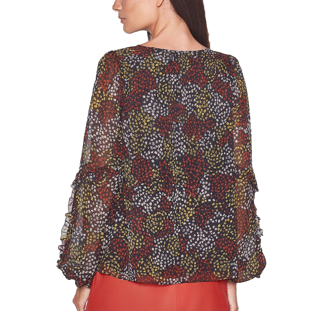 Joie  Baltasar Silk Printed Top Size  Muse Boutique Outlet | Shop Designer Blouses on Sale | Up to 90% Off Designer Fashion