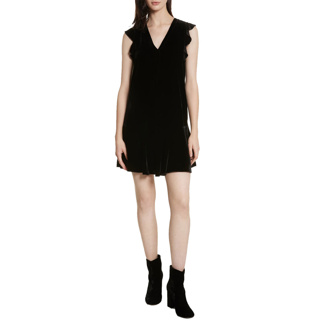 Joie Caviar Almarie Velvet Shift Dress Size Extra Extra Small Muse Boutique Outlet | Shop Designer Dresses on Sale | Up to 90% Off Designer Fashion