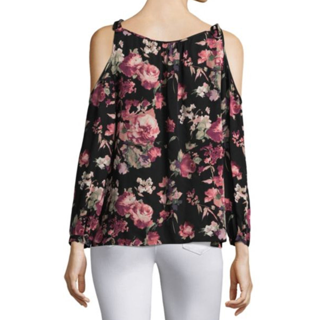 Joie  Jilette Floral Cold Shoulder Blouse Size  Muse Boutique Outlet | Shop Designer Three Quarter Sleeve Tops on Sale | Up to 90% Off Designer Fashion