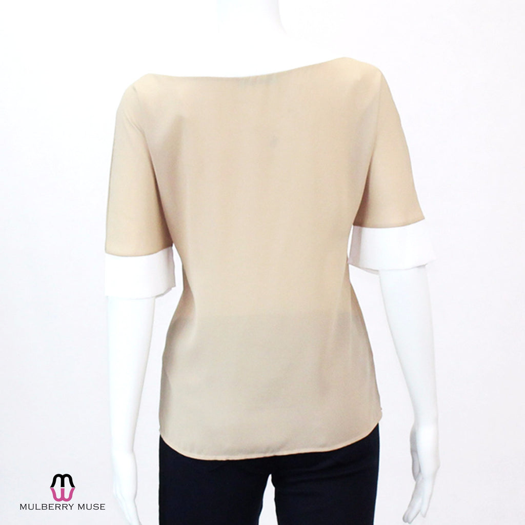 Karlie  Karlie Colorblocked Blouse Size  Muse Boutique Outlet | Shop Designer Clearance Tops on Sale | Up to 90% Off Designer Fashion