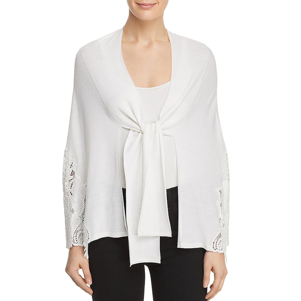 Kobi Halperin Ivory Benita Tie Front Sweater Size Extra Small Muse Boutique Outlet | Shop Designer Sweaters on Sale | Up to 90% Off Designer Fashion