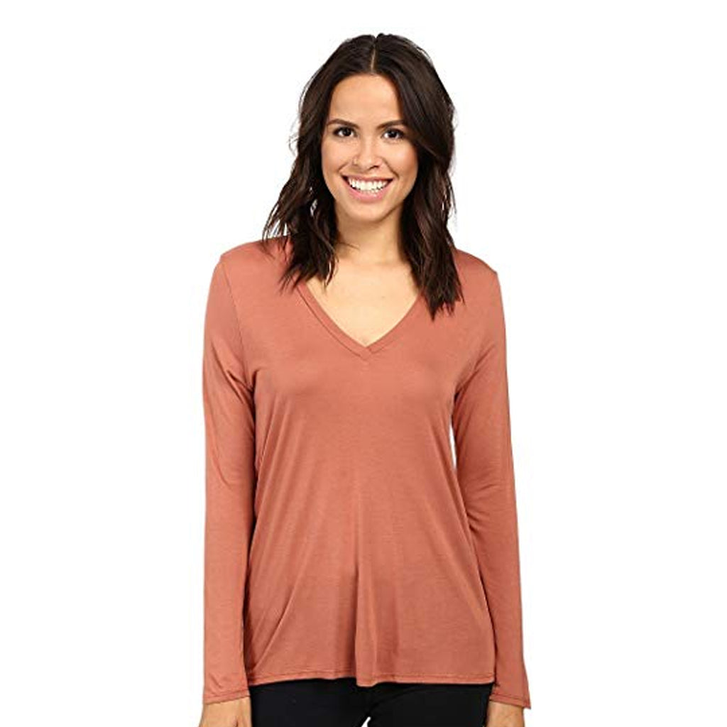 Lanston Terra Twist Back Long Sleeve Top Size Extra Small Muse Boutique Outlet | Shop Designer Clearance Tops on Sale | Up to 90% Off Designer Fashion