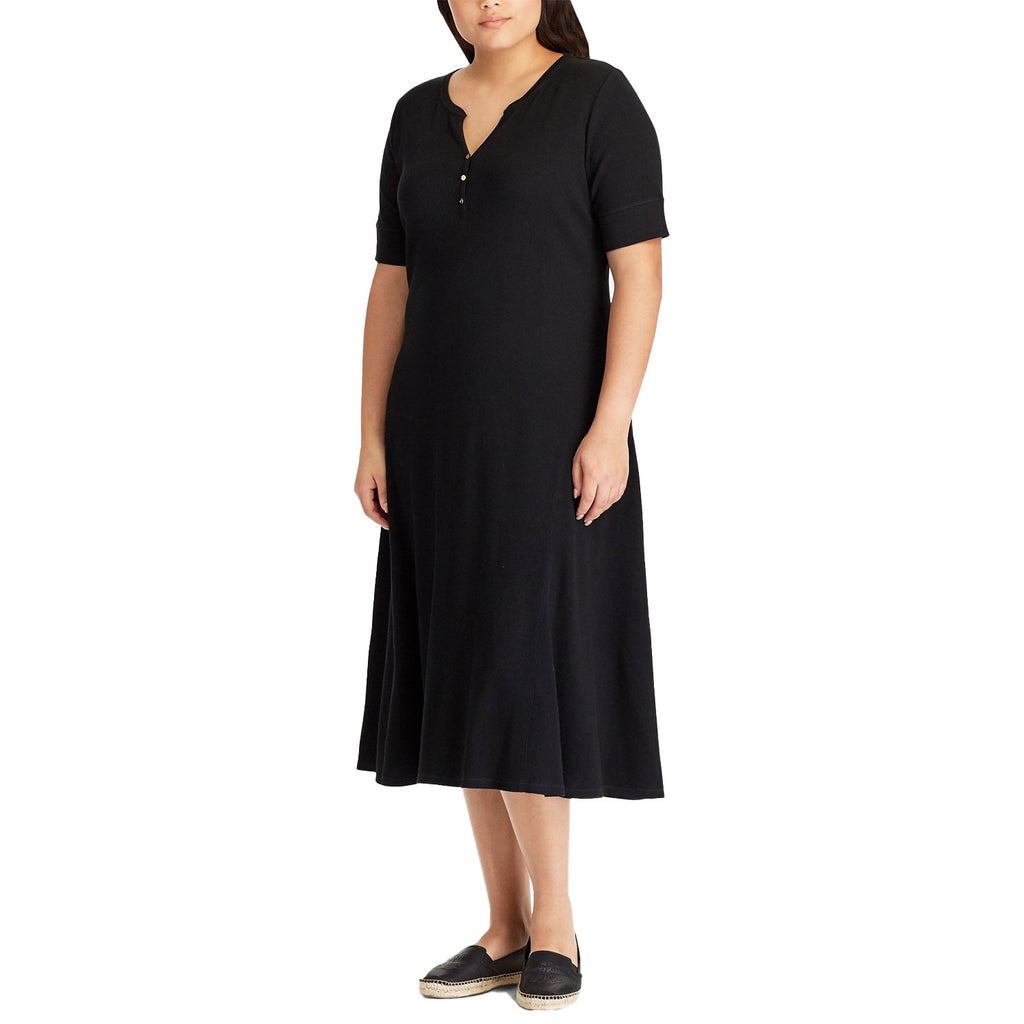 Lauren by Ralph Lauren Black Elbow Sleeve Casual Dress Size Extra Small Muse Boutique Outlet | Shop Designer Clearance Dresses on Sale | Up to 90% Off Designer Fashion