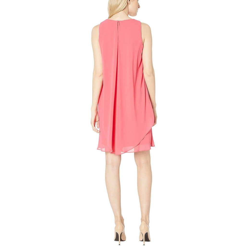 Lauren By Ralph Lauren  Georgette Sleeveless Dress Size  Muse Boutique Outlet | Shop Designer Dresses on Sale | Up to 90% Off Designer Fashion