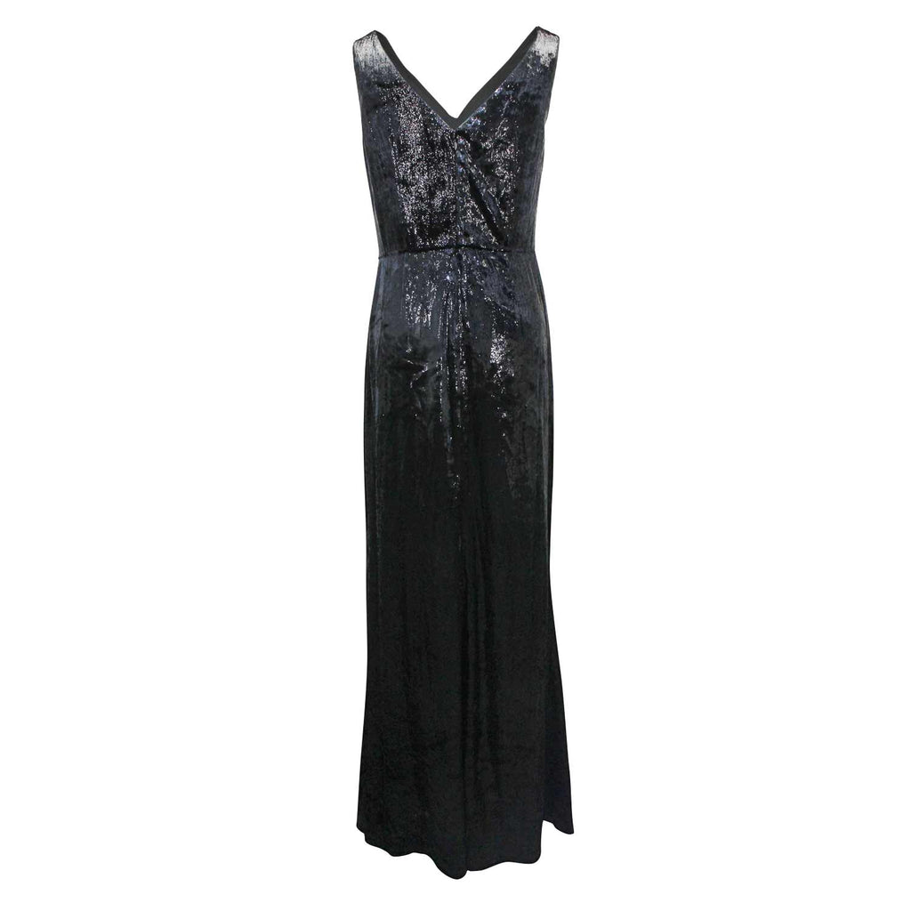 Lauren By Ralph lauren  Zafiya Velvet Dress Size  Muse Boutique Outlet | Shop Designer Evening/Cocktail on Sale | Up to 90% Off Designer Fashion