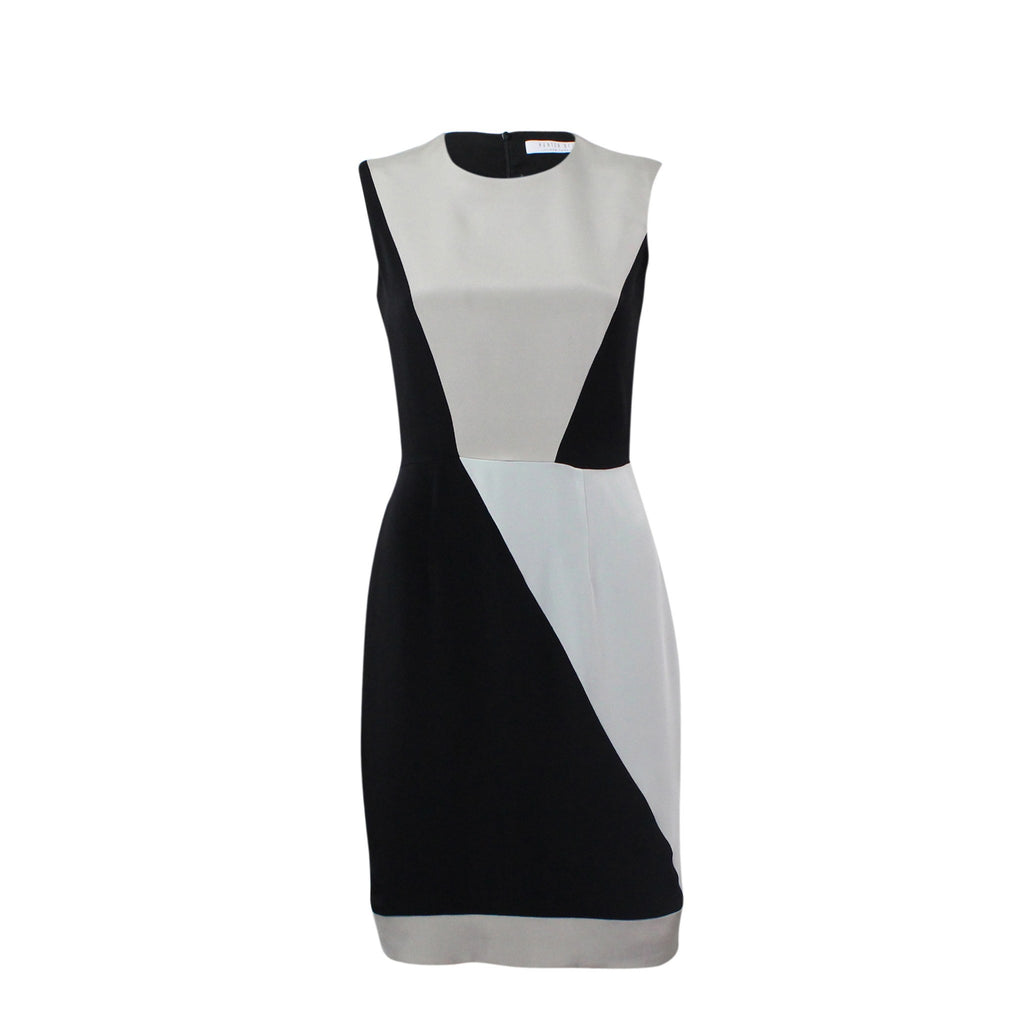 Hunter Bell  Colorblock Silk Sheath Dress Size  Muse Boutique Outlet | Shop Designer Clearance Dresses on Sale | Up to 90% Off Designer Fashion