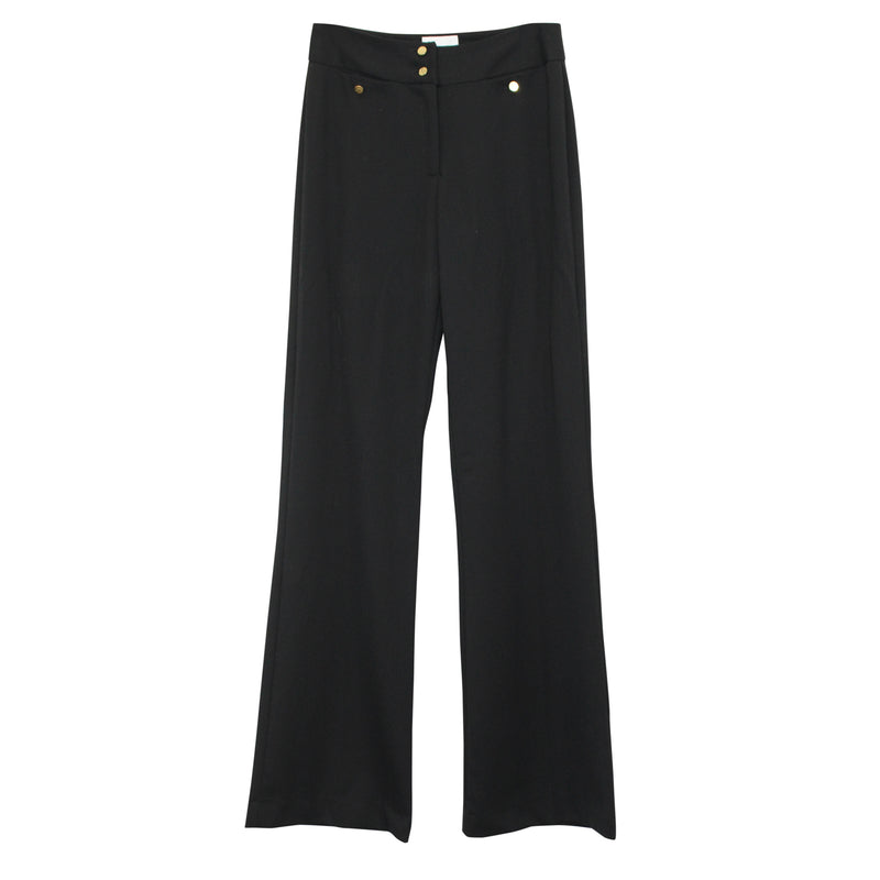 Leona by Lauren Leonard Black Leona Wallace Trouser - 0 Size 0 Muse Boutique Outlet | Shop Designer Clearance Bottoms on Sale | Up to 90% Off Designer Fashion