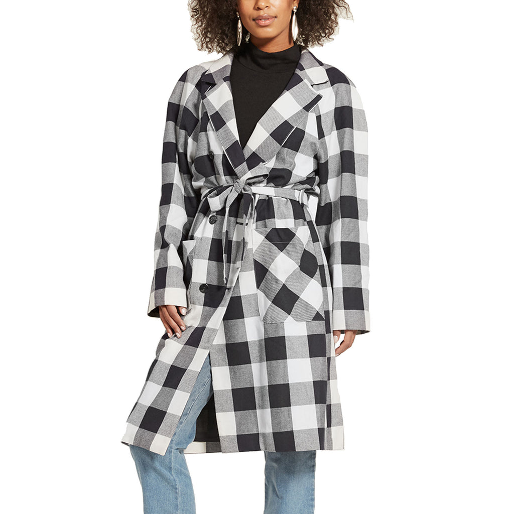 Loup Black/White Plaid Hannah Jacket Size Extra small Muse Boutique Outlet | Shop Designer Jackets on Sale | Up to 90% Off Designer Fashion
